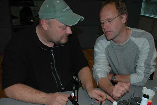 Fluebinding den 25.11.2006