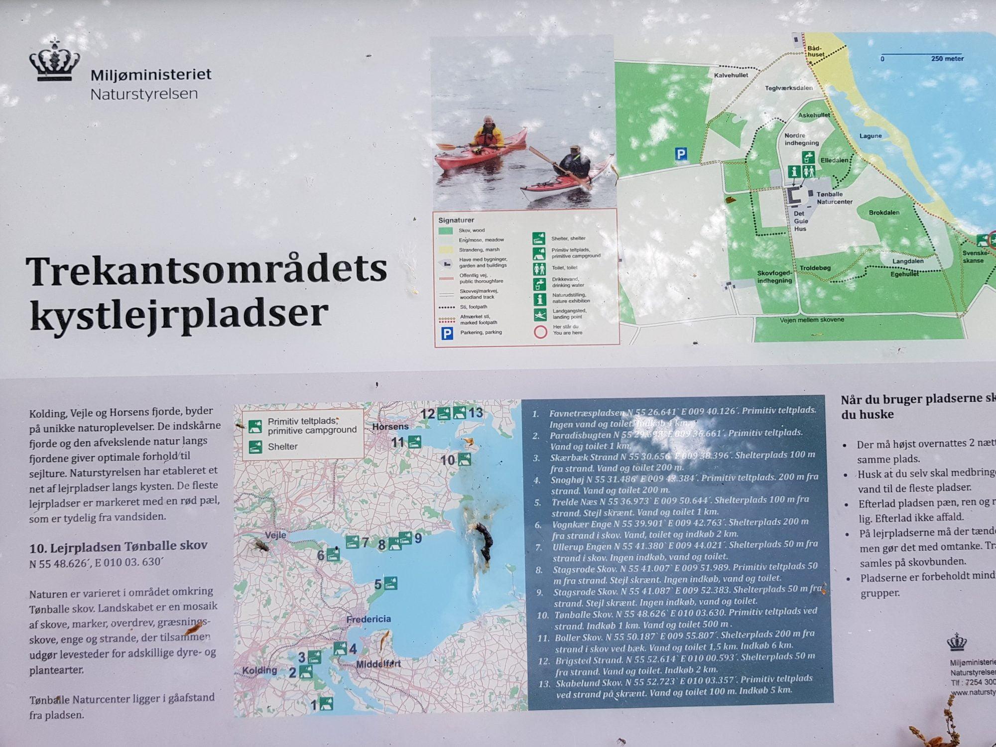 Batterierne og Hundshage Horsens fjord